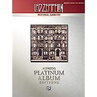 Led Zeppelin -- Physical Graffiti Platinum Guitar: Authentic