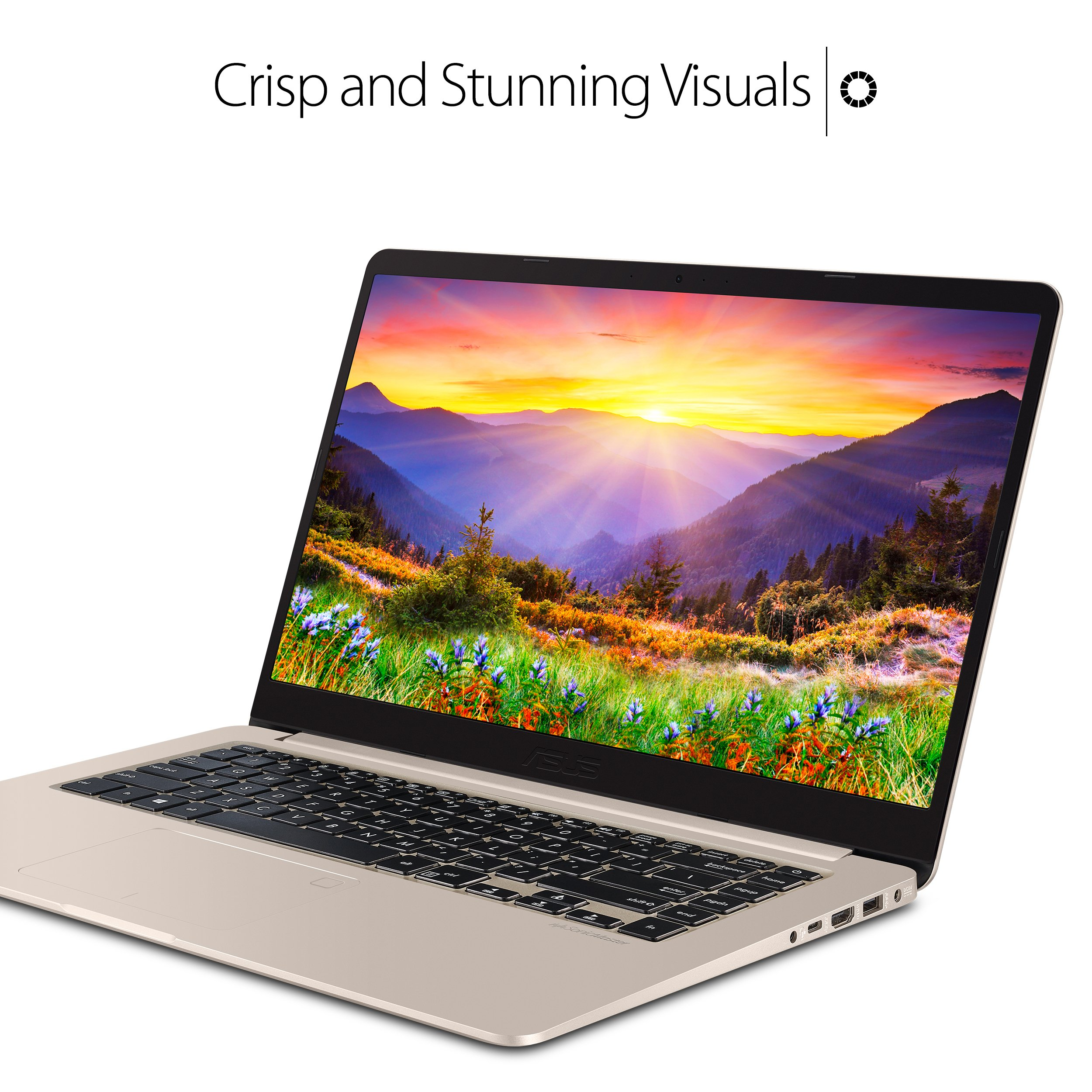 """ASUS VivoBook S Ultra Thin and Portable Laptop, Intel Core i7-8550U Processor, 8GB DDR4 RAM, 128GB SSD+1TB HDD, 15.6"""" FHD WideView Display, ASUS NanoEdge Bezel, S510UA-DS71 by ASUS (Image #9)"""