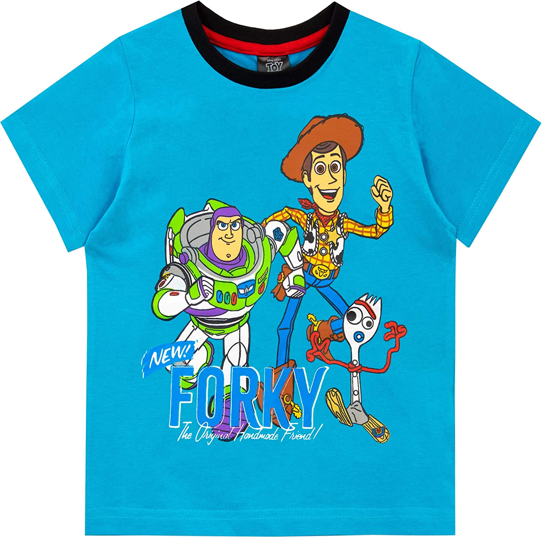 Disney Pigiama a Maniche Corta per Ragazzi Toy Story