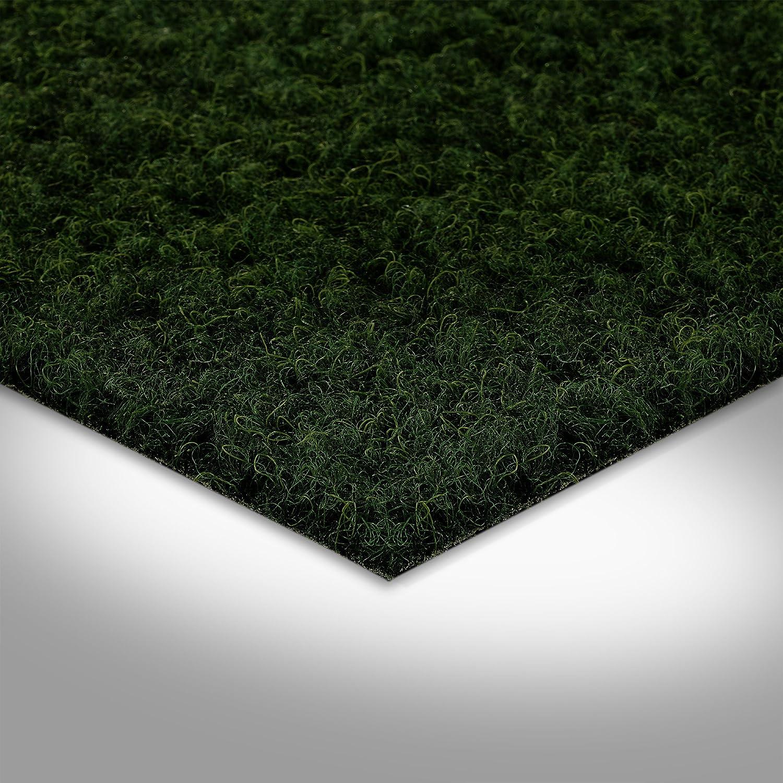dunkel-gr/ün Gr/ö/ße: 1,5 x 2,5 m H/öhe ca Meterware 200 7,5mm 250 und 400 cm Breite verschiedene Gr/ö/ßen Kunstrasen Rasenteppich mit Noppen 133