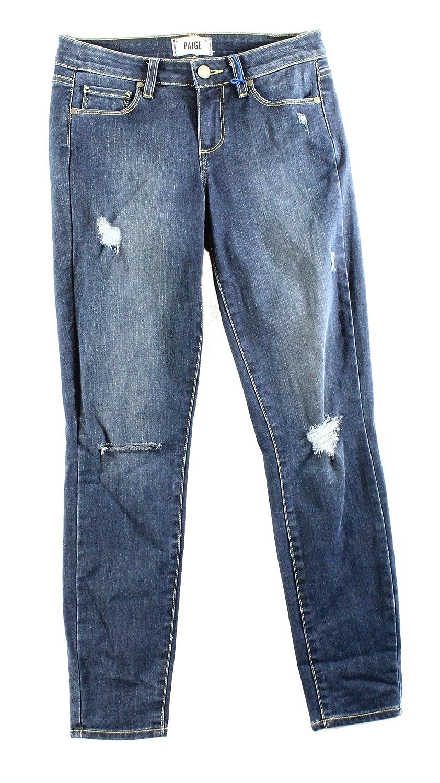 Paige Blue Women's 26X27 Verdugo Slim Skinny Jeans
