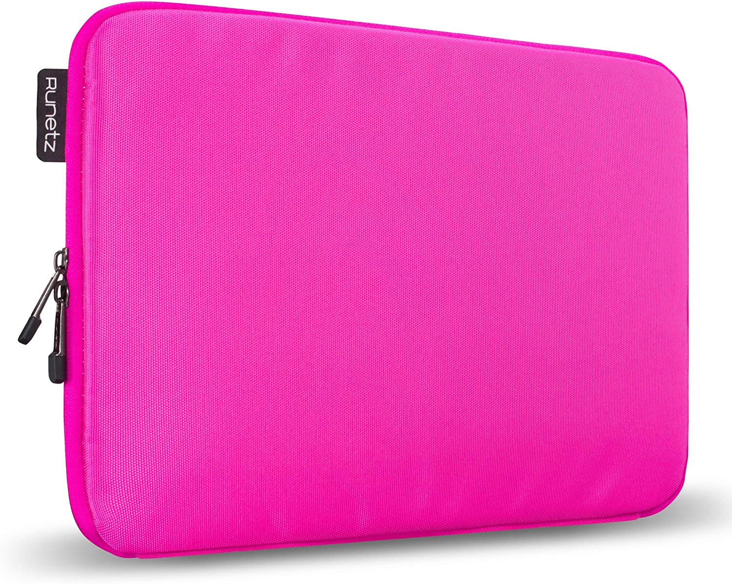Runetz - MacBook Pro 13 inch Sleeve Soft Laptop Sleeve 13 inch MacBook Air 13 inch Sleeve Notebook Computer Bag Protective Case Cover with Zipper - Pink