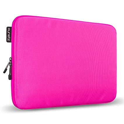a0414c04bf Amazon.com  Runetz - 13-inch HOT PINK Soft Sleeve Case for NEWEST ...