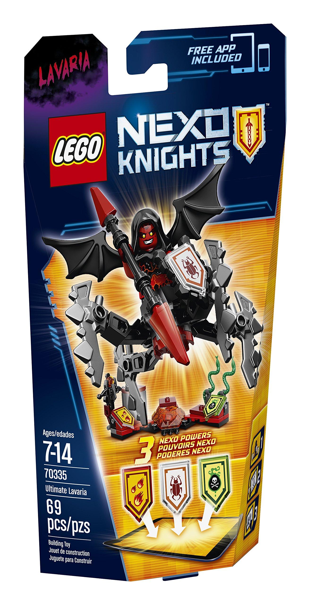 Lego Nexoknights Ultimate Lavaria 70335 14