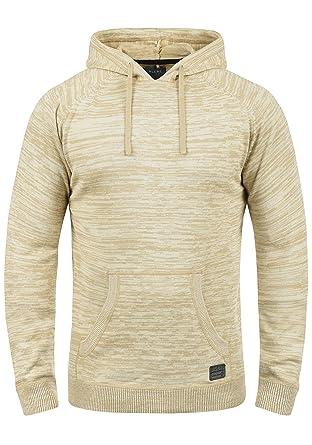 a87dae48727f Blend Sammy Herren Strickpullover Kapuzenpullover Feinstrick Pullover Mit  Kapuze Aus 100% Baumwolle, Größe