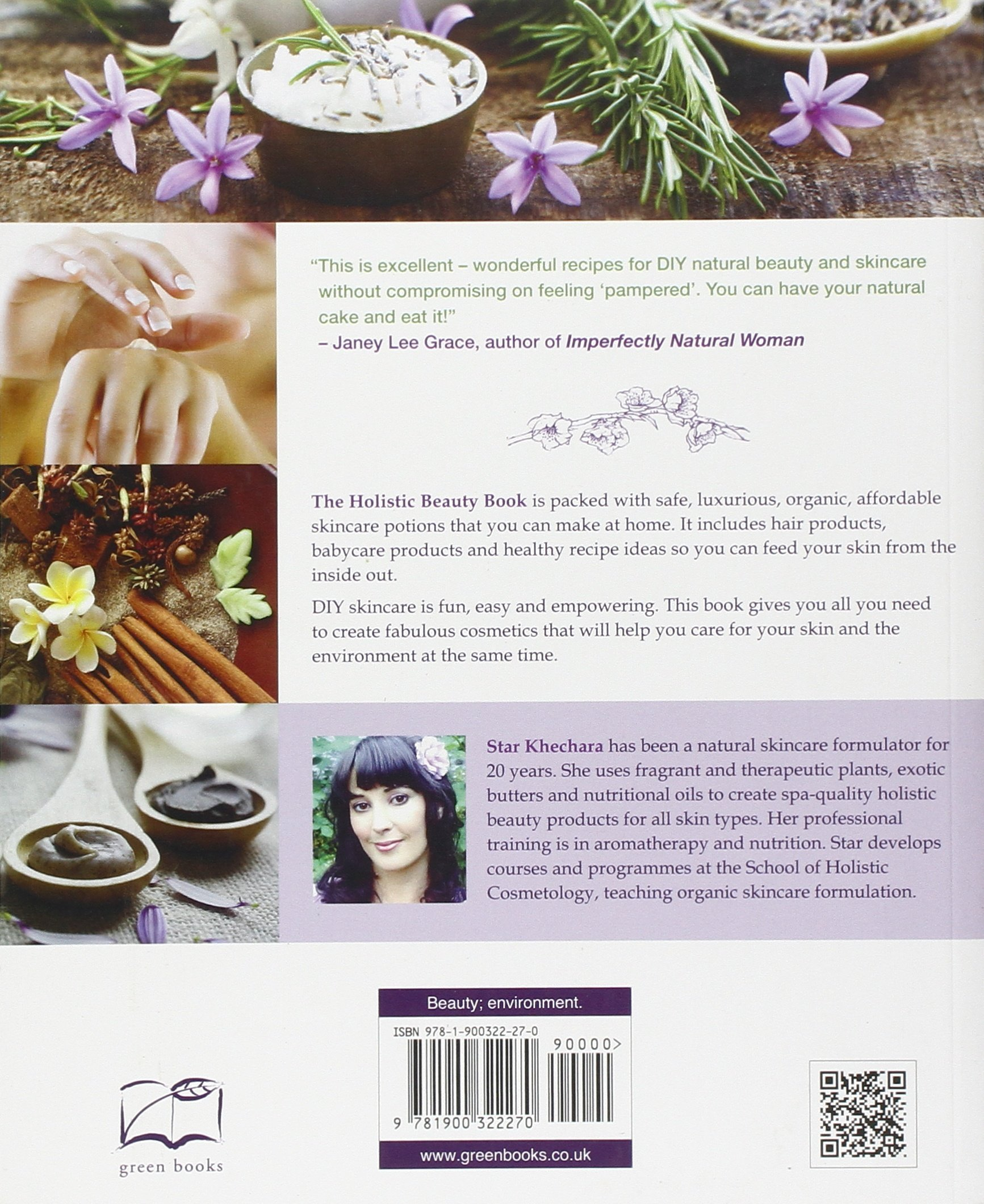 The Holistic Beauty Book Over 100 Natural Recipes For Gorgeous