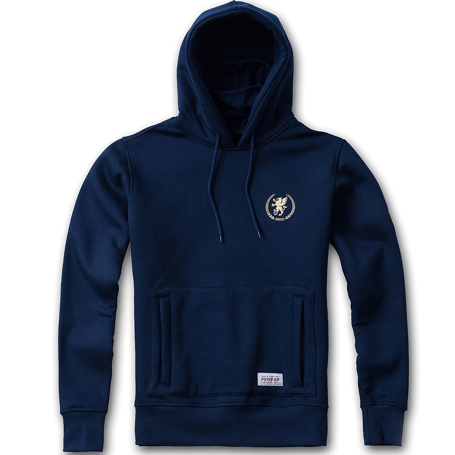 "PG Wear ""Warrior Mask-Hoodie Navy"