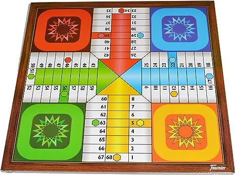 Fournier 521113 - Tablero Parchís-Oca 4 Jugadores: Amazon.es: Juguetes y juegos