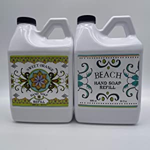 La Tasse Beach and Sweet Orange Soap Refill
