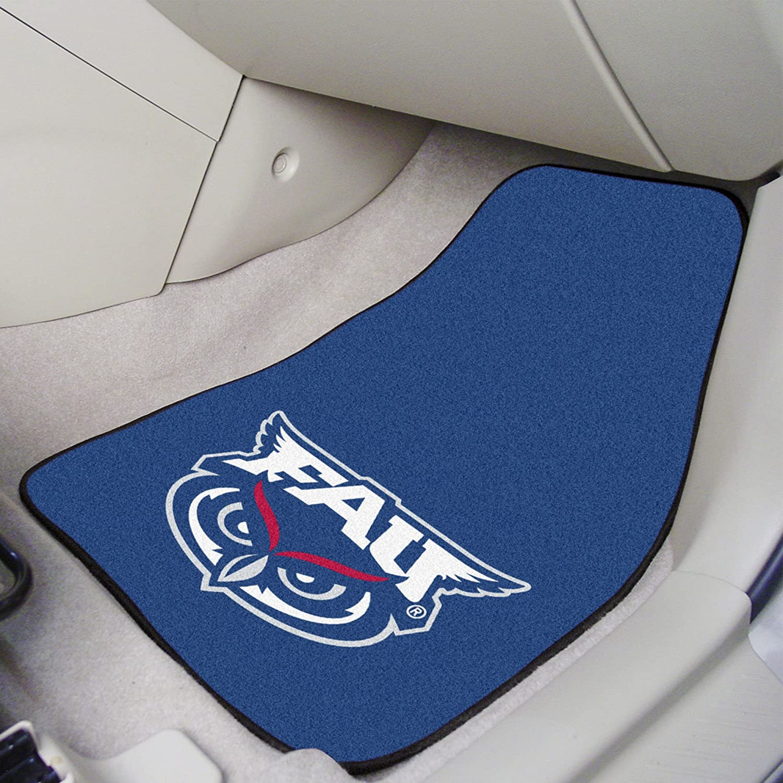 FANMATS NCAA Florida Atlantic University Owls Nylon Face Carpet Car Mat