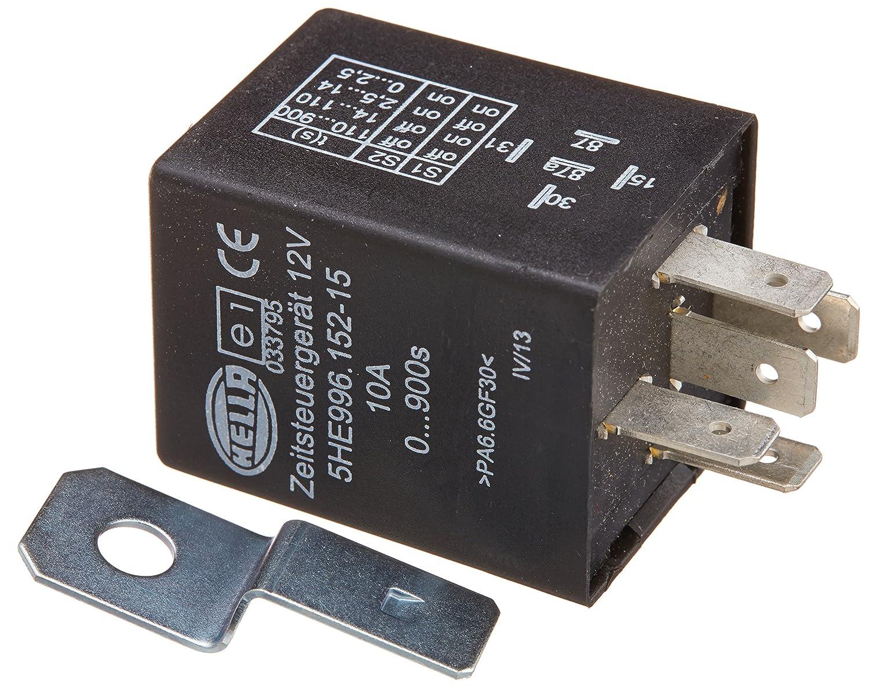 HELLA 996152151 12 Volt 5 Pin 0-900s Delay On Time Control Unit