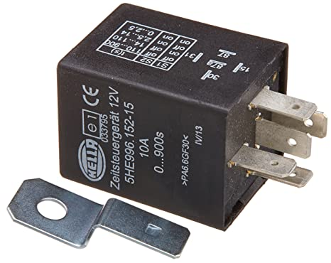 Amazon.com: A 996152151 12 Volt 5 Pin 0-900s Delay On Time ...