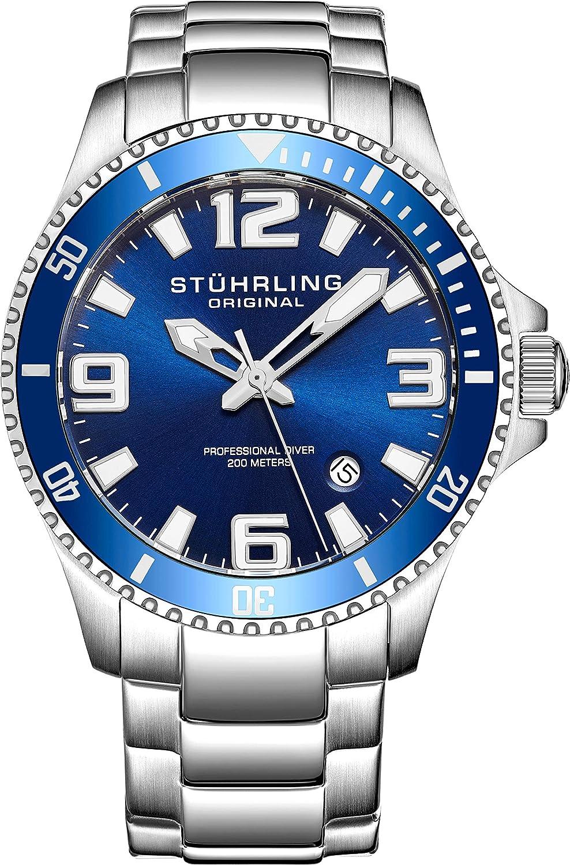 Stuhrling Original Men S 395 33u16 Aquadiver Regatta Champion
