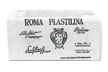 Sculpture house roma plastilina modeling