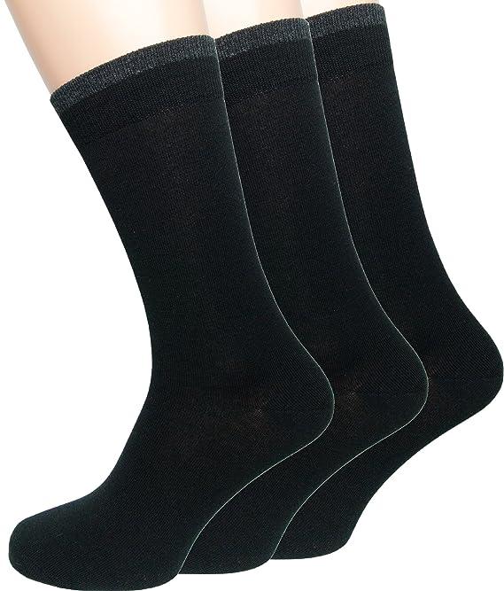 Loonysocks, 3 Pares de Nuestros Mejores Calcetines de Ejecutivo Lana de Merino de Ascona súper Suave, Calcetines de Caballero: Amazon.es: Deportes y aire ...