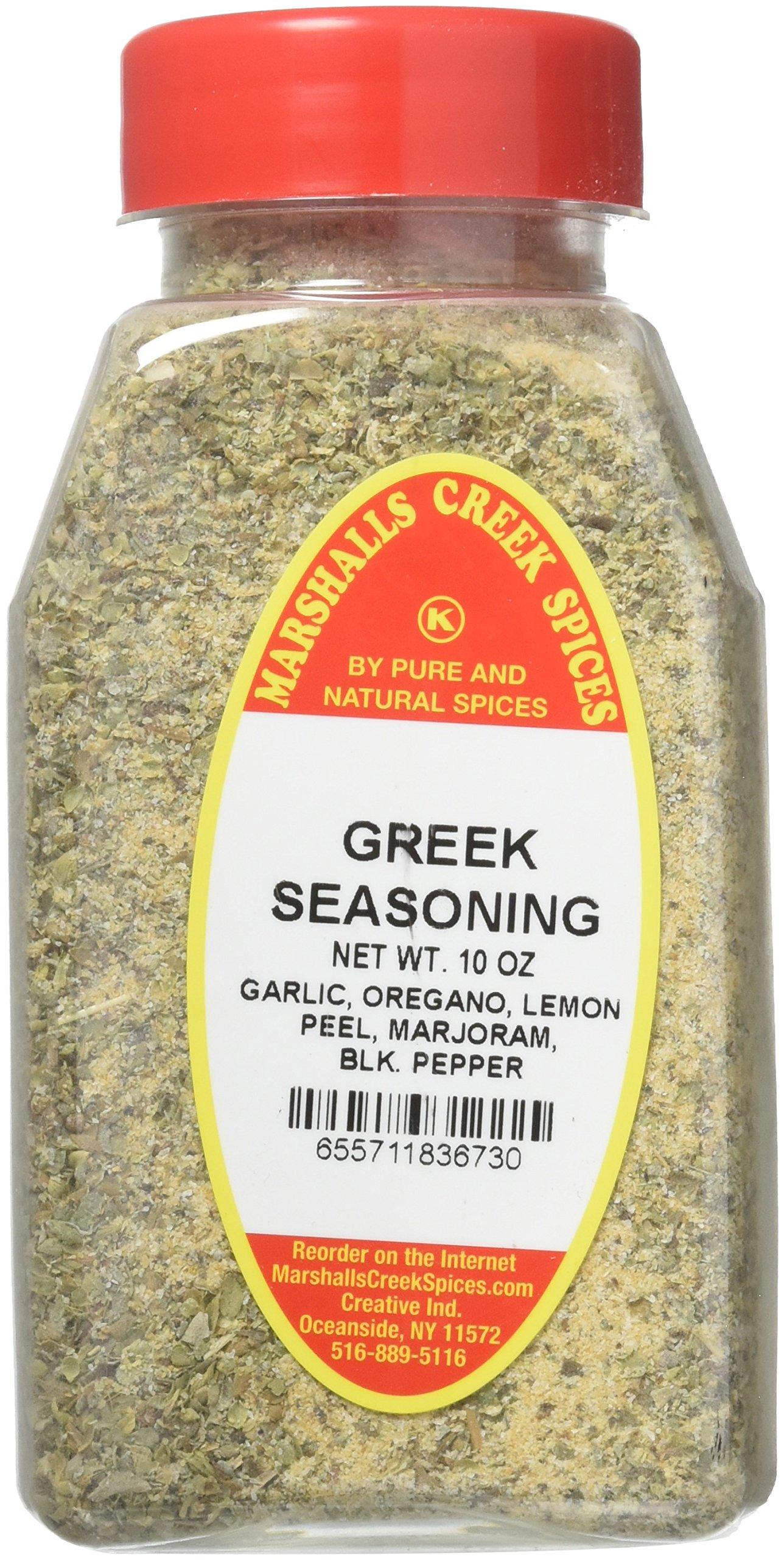 Marshalls Creek Spices Kosher No Salt, Greek Seasoning,, 10 Ounce