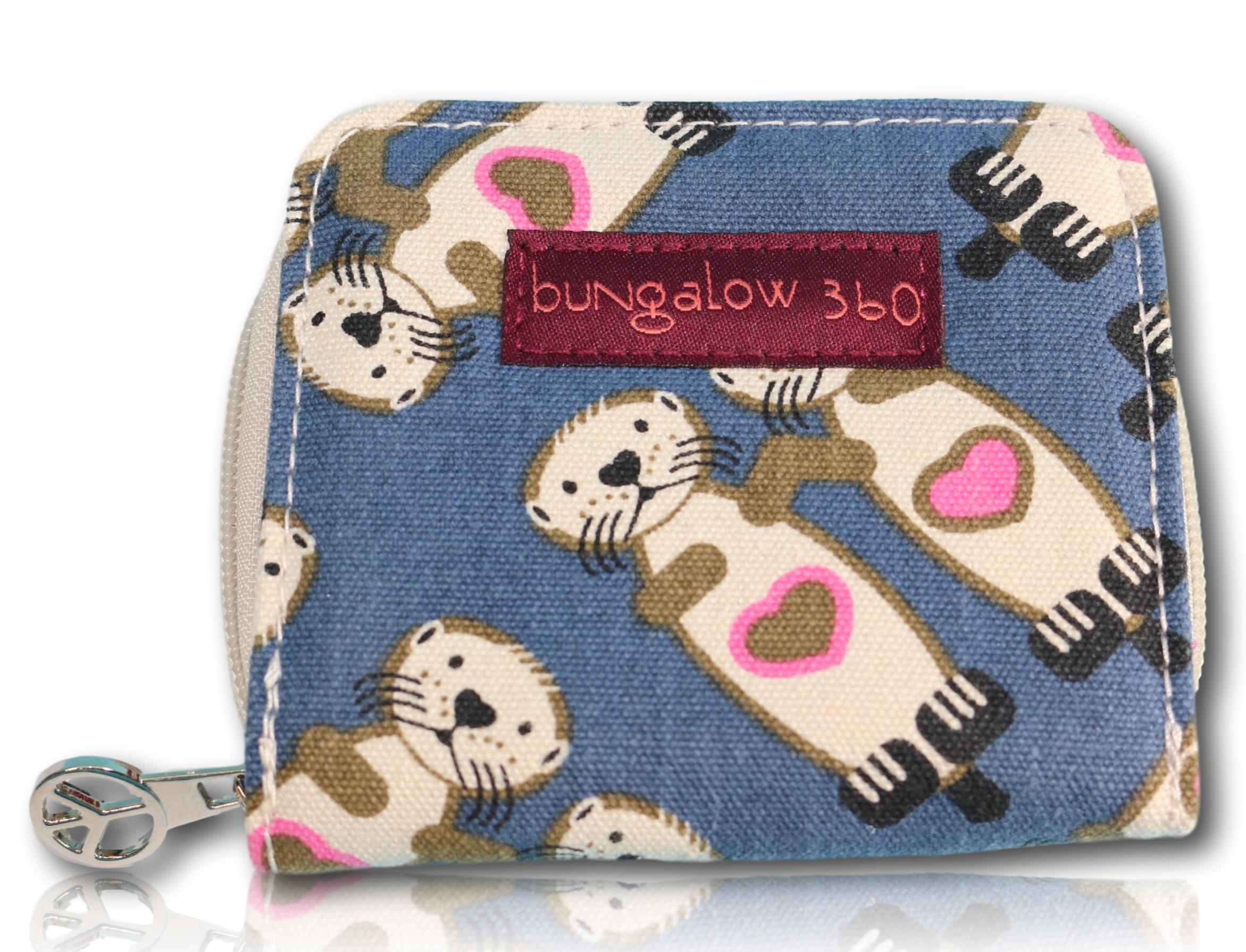 Bungalow 360 Billfold Wallet ( Sea Otter)