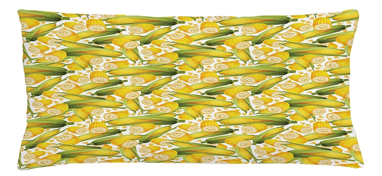 Amazon Com Ambesonne Corn Throw Pillow Cushion Cover Vegetable