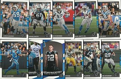 pretty nice 21e37 67333 2017 Panini Donruss Football Carolina Panthers Team Set 11 ...