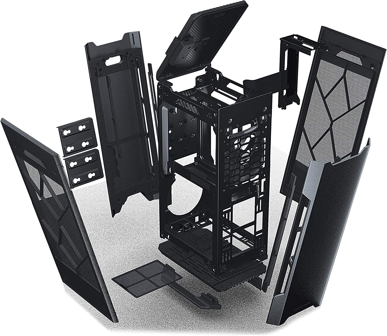 Aluminum Panels Mini-ITX Case Phanteks Evolv Shift Air Anthracite Grey Mesh Fabric Side Panels PH-ES217A/_AG RGB Controller