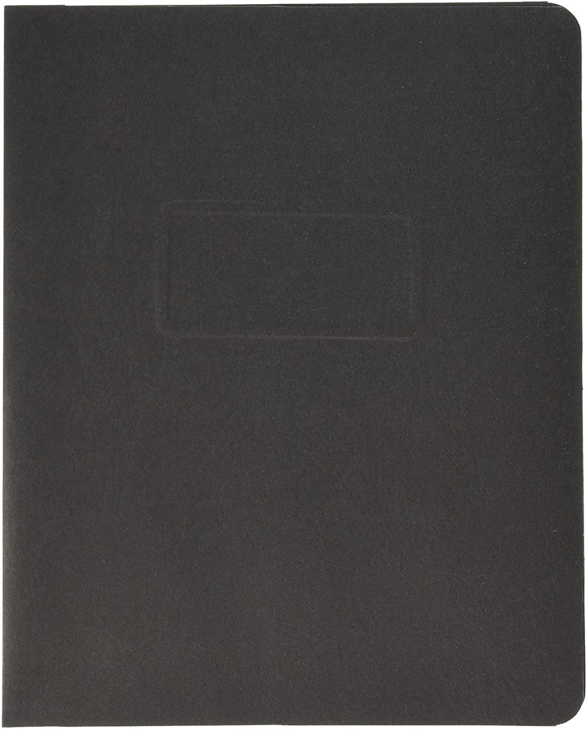Oxford 2-Hole Prong Report Covers, Black, Letter Size, 25 per Box, (5730105)
