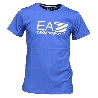 fd2db0e80955 Armani EA7 Boys T-Shirt  Amazon.co.uk  Clothing