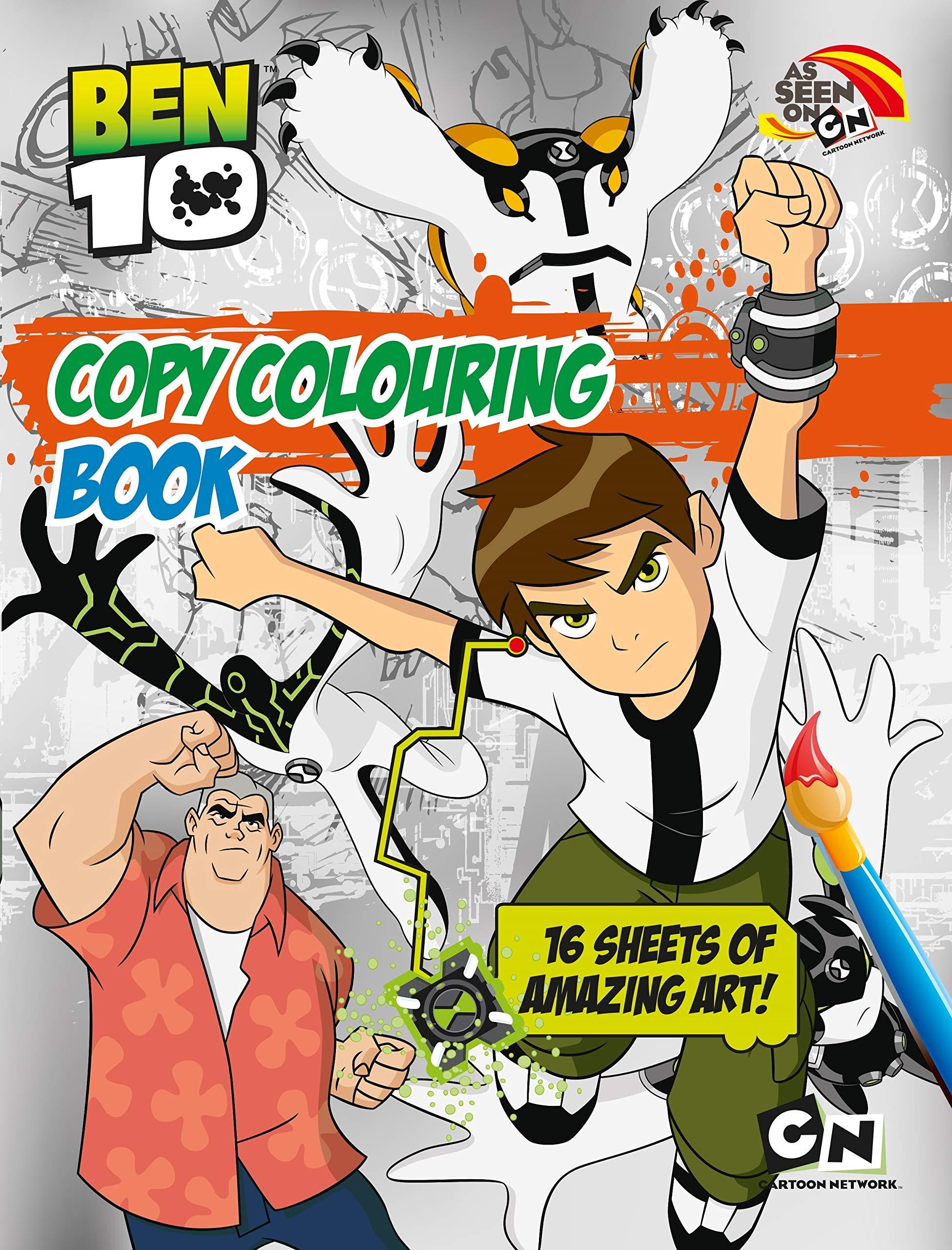 Ben 10 Colouring Book