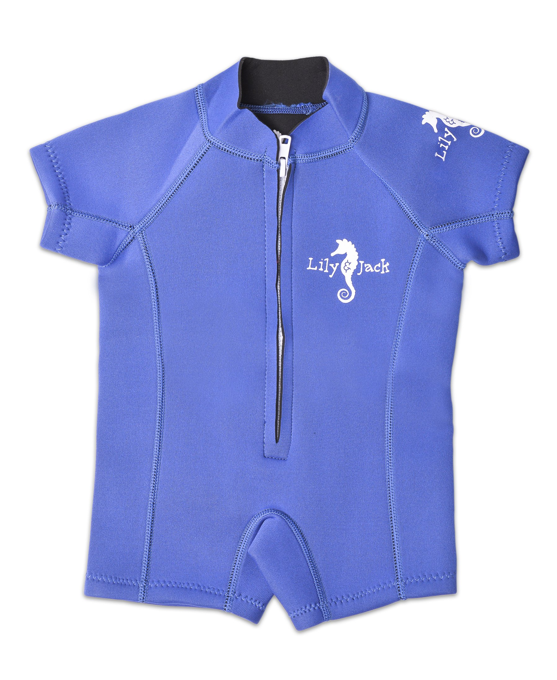 Lily&Jack Baby Swimsuit/Wetsuit. Swimwear for Boy and Girl Toddlers with UV Protection. (X-Small / 6-12 Months, Blue) by Lily&Jack