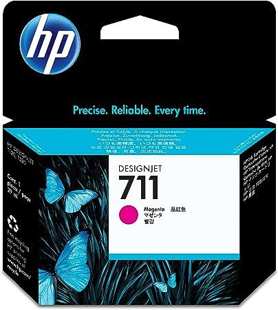 Hp 711 Magenta Original Druckerpatrone 29 Ml Für Hp Designjet Bürobedarf Schreibwaren