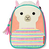 Skip Hop Zoo Lunchie Mini Vespertasche, für den Kindergarten, isoliert, mit Namensschild, Lama Luna, mehrfarbig