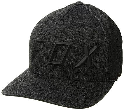 9f58c8baddb20 Fox Flexfit Cap Sonic Moth Schwarz Gr. S M  Amazon.de  Bekleidung