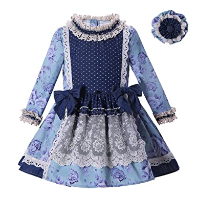 Lajinirr Girl S Dresses Long Sleeve Traditional Spanish Baby Wear