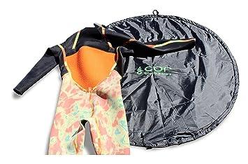 COR Surf Traje de cambiador / Bolsa . Grande para Surfers / kayakistas / vigas y los navegantes que tienen que cambiar fuera de su traje de neopreno.