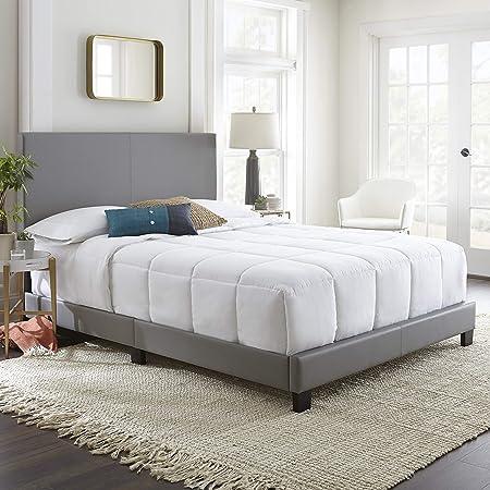 Flex Form Montana Upholstered Platform Bed Frame with