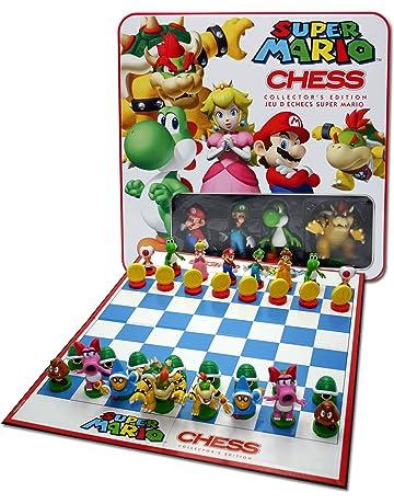 Universal Trends - Super Mario Chess - Ajedrez con figuras de Super Mario - Juego ajedrez