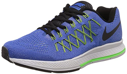74c6ebc8d45 Nike Men s Air Zoom Pegasus 32 Blue Running Shoes - 10 UK India (45 ...