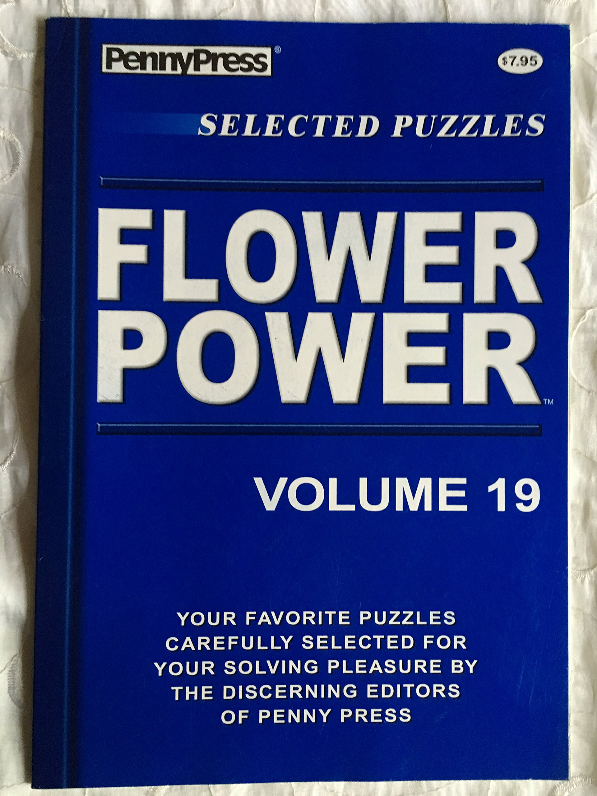 Read Online Penny Press Selected Puzzles Flower Power Crosswords *Volume 19* Special Collection PDF