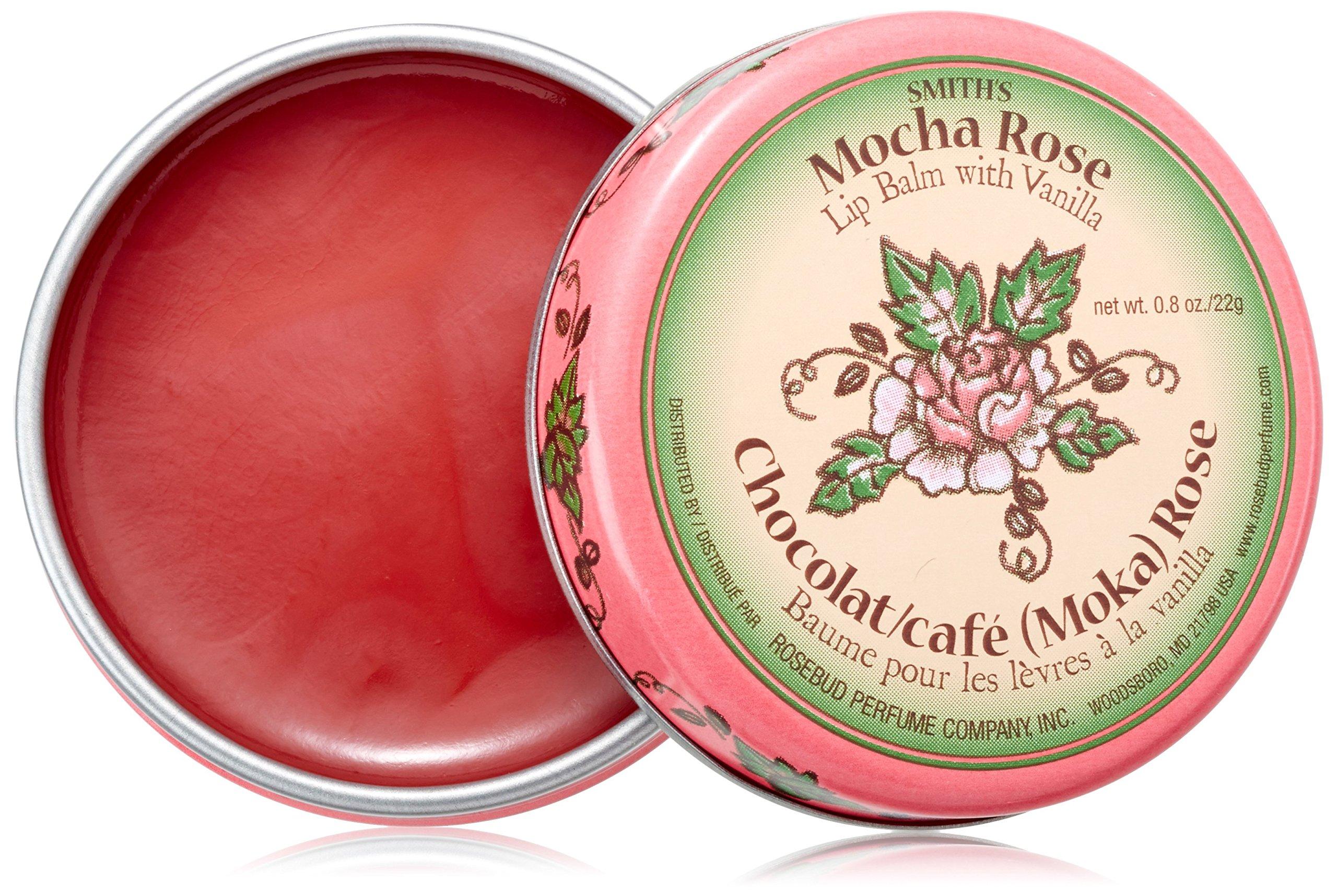 Rosebud Lip Balm, Mocha Rose, .8 Ounce