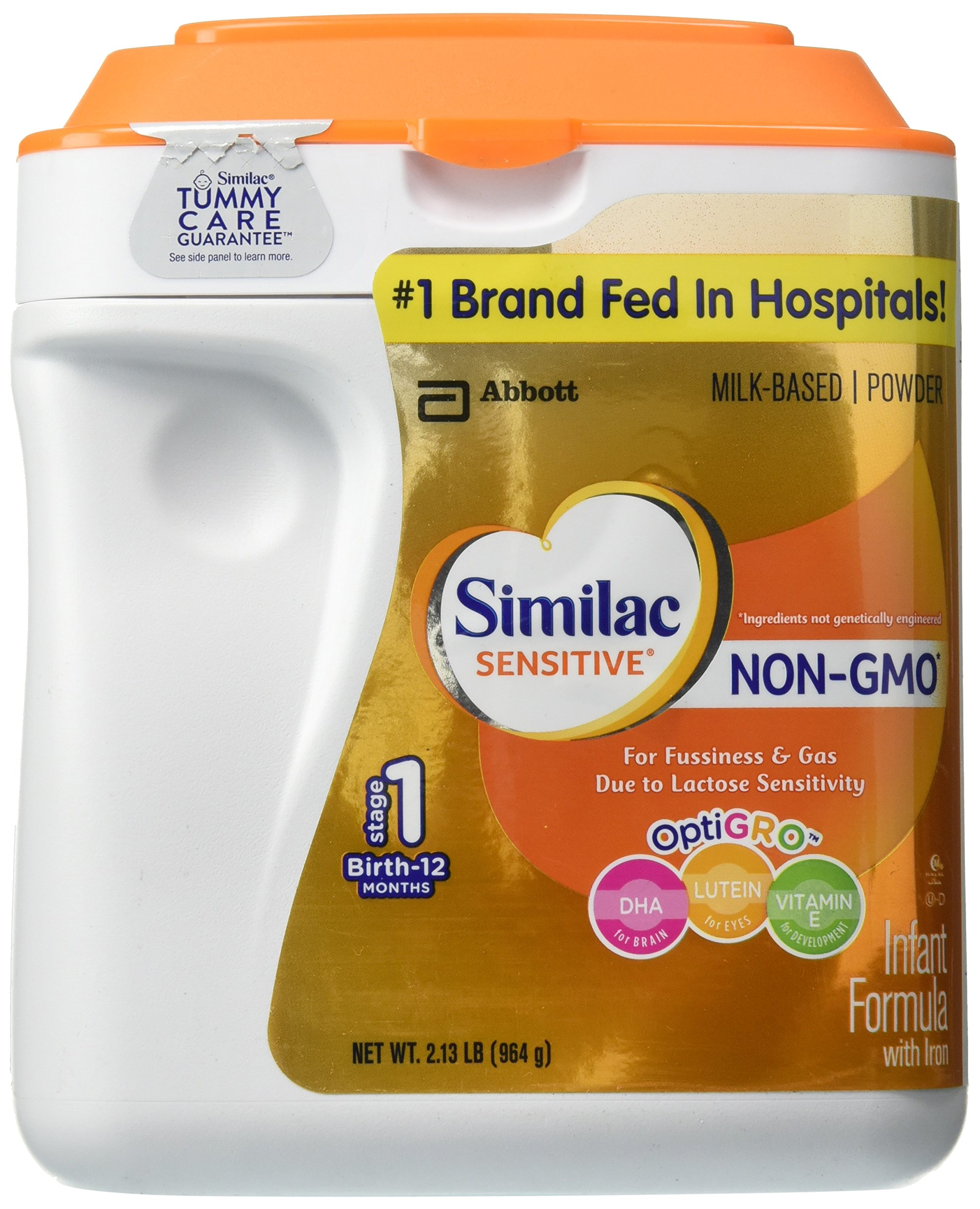 Similac Sensitive Non-GMO Baby Formula - Powder - 34 oz