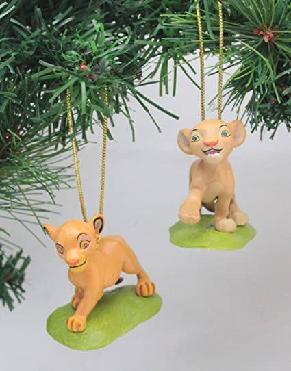 Amazon Com Disney S The Lion King Nala Simba Holiday Ornament