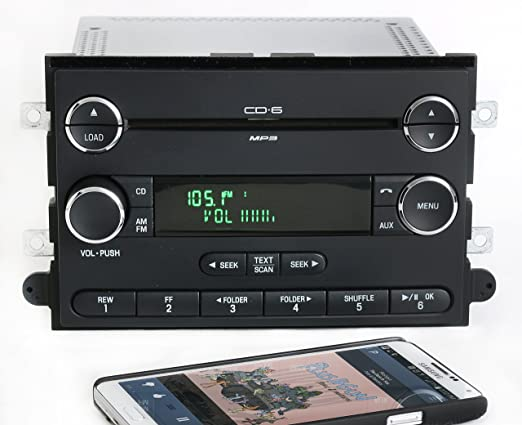 Amazon Ford Fusion 0609 Am Fm 6 Disc Cd Radio Chrome W Rhamazon: 2007 Ford Fusion Factory Satellite Radio At Elf-jo.com