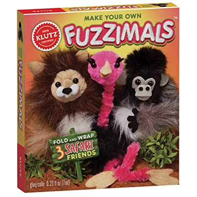 Klutz Make Your Own Fuzzimals Craft Kit: Toys & Games