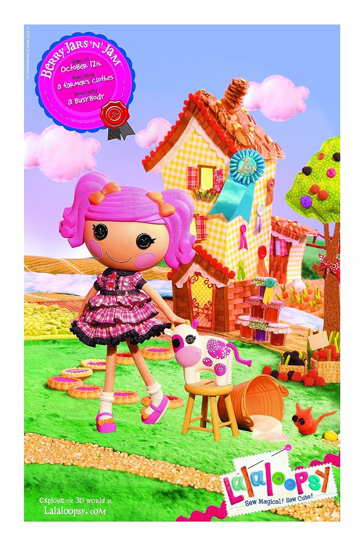 amazon com lalaloopsy doll berry jars u0027n u0027 jam toys u0026 games