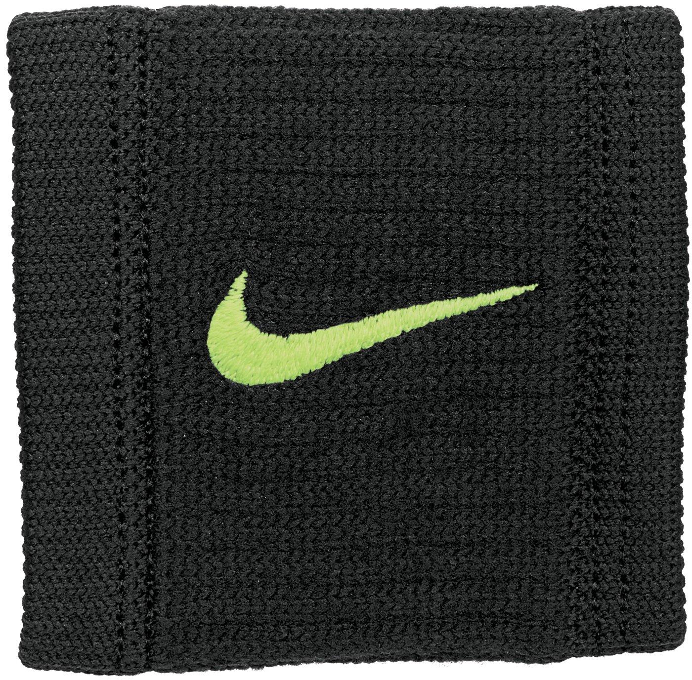 Coppia Polsini Tennis Nike Dri Dry Reveal Tergisudore più colori Federer Nadal (Black/Volt/Volt) N.NN.J0.085.OS