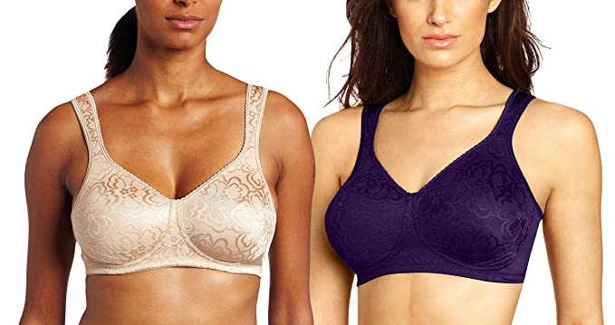 b7a59f0cc4d Image Unavailable. Image not available for. Color  Playtex 4745 Women s 18-Hour  Ultimate Lift And Support Wire-Free Bra ...