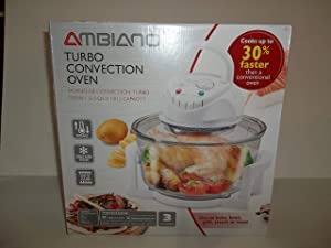 Ambiano Turbo Convection Oven 51359