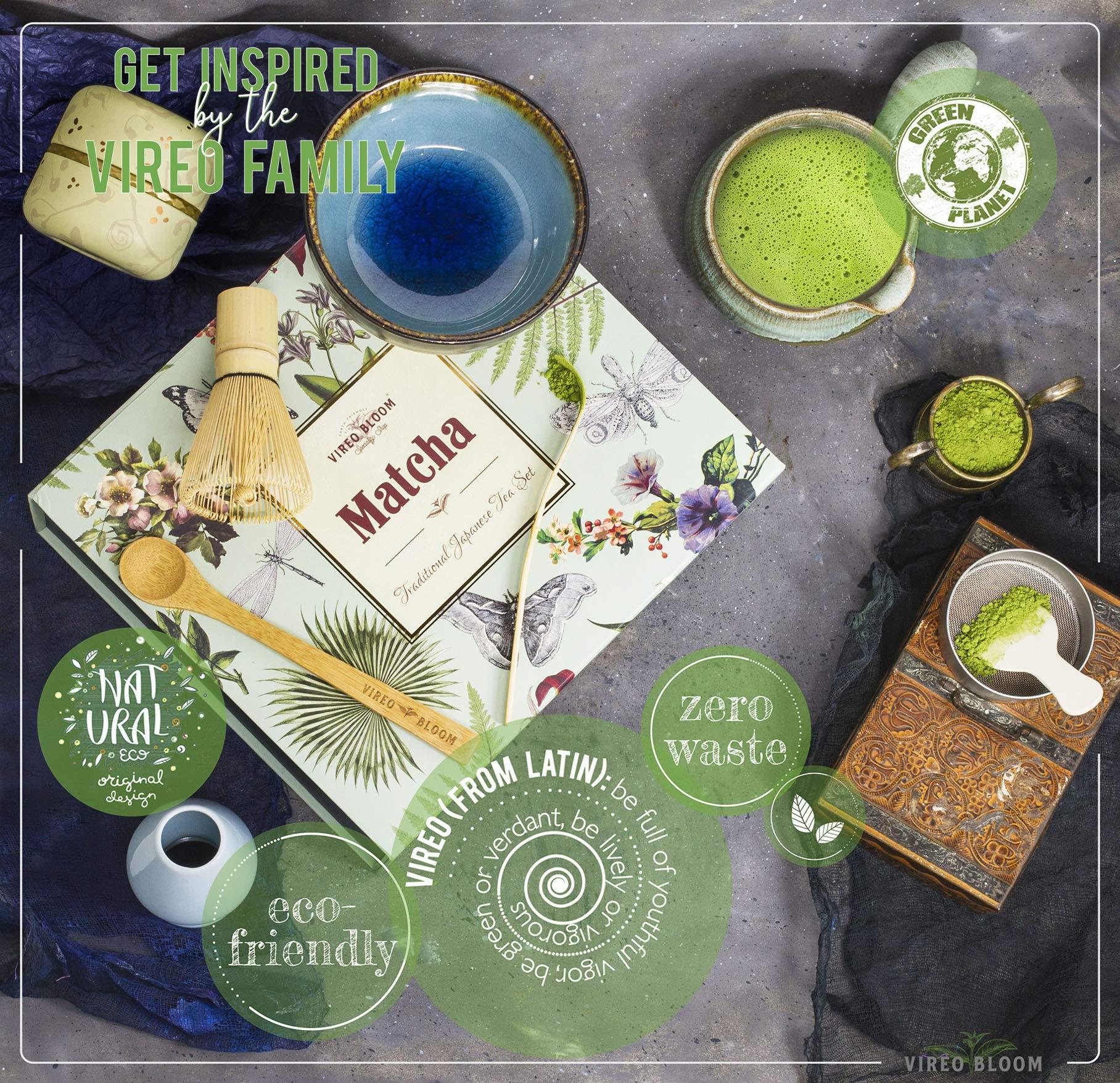 Organic Moya Matcha Green Tea Set I Holder Premium Ceremonial Grade Gift Powder Complete Preparation Kit Spoon Bowl Whisk Pack 30g Premium Grade