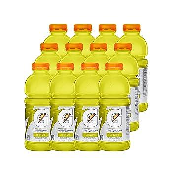 Amazon Gatorade Thirst Quencher Lemon Lime 20 Ounce Bottles