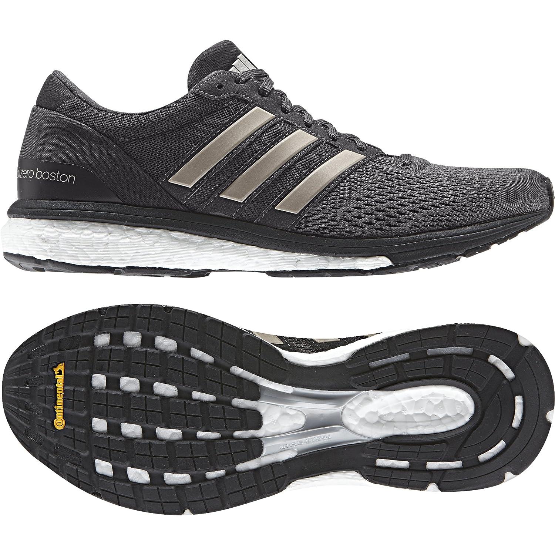 adidas Women's Adizero Boston 6 W Running Shoes Black Size