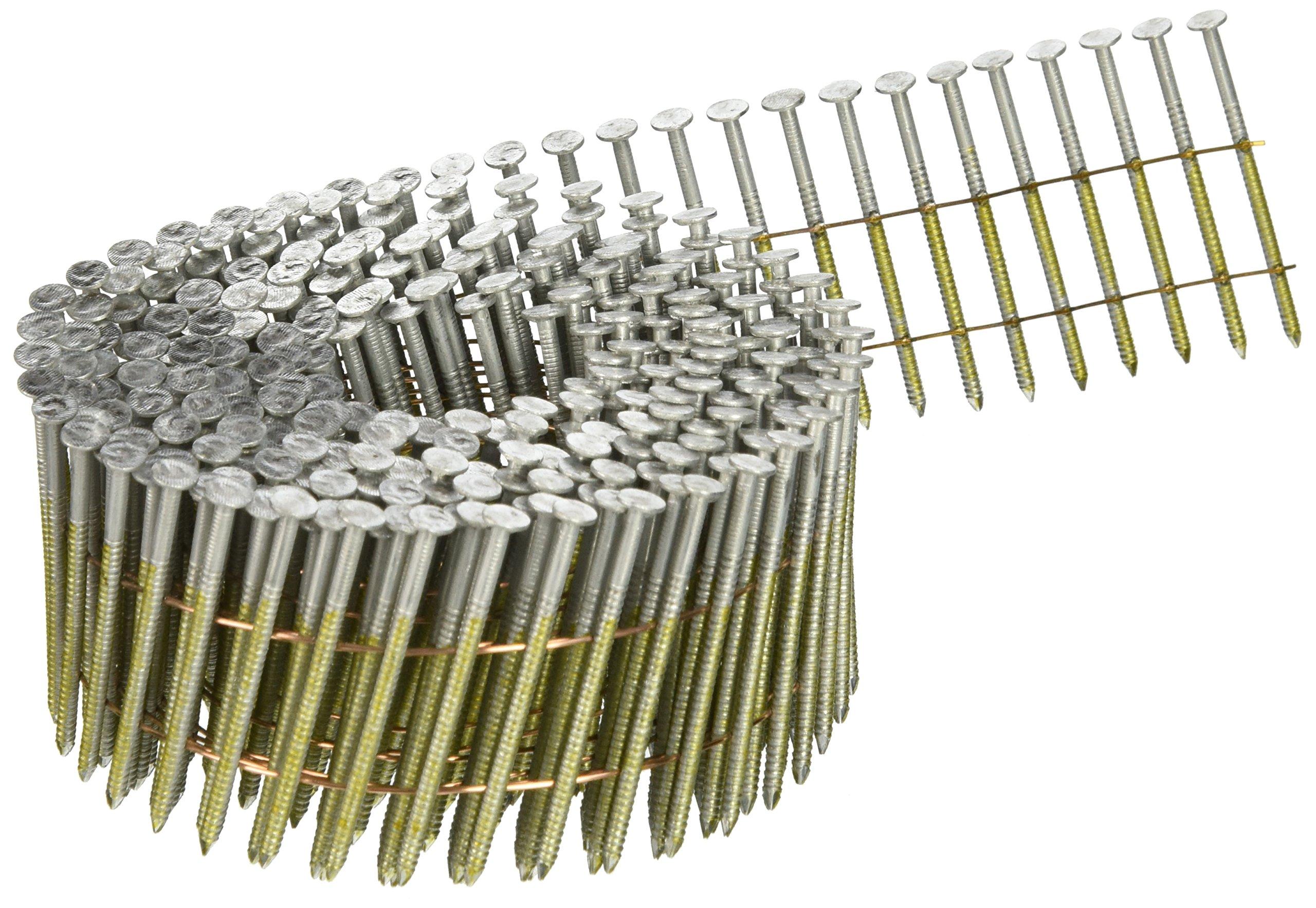 Hitachi 13335 2-Inch x .092 Ring Electro Galvanized Coil Nail